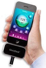 Erinnerung: Blutzucker-Messgeräte GlucoDock fürs iPhone