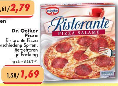 Ristorante Pizza für 1,69 € bei Citti