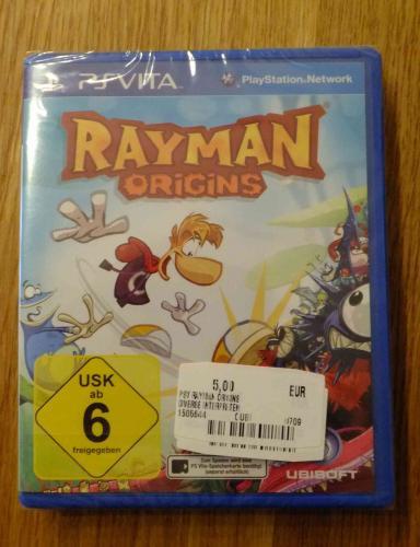 Diverse PS Vita Spiele / Rayman Origins ua. Mediamarkt Ludwigsburg / Lokal