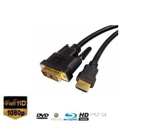 E-Bay: 10m DVI-HDMI Highspeed ohne Ethernet Kabel für 7,79€