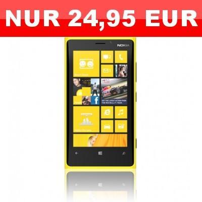 Nokia Lumia 920 + Telekom Special Call & Surf Mobil für 28,77 € mtl.