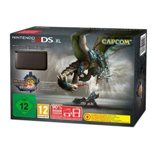 Nintendo™ - 3DS XL Konsole (Black) + Monster Hunter 3 Ultimate (Pre-Order) für €194,06 [@Amazon.fr]