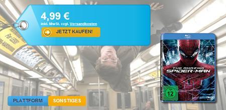 The Amazing Spiderman Blu-Ray