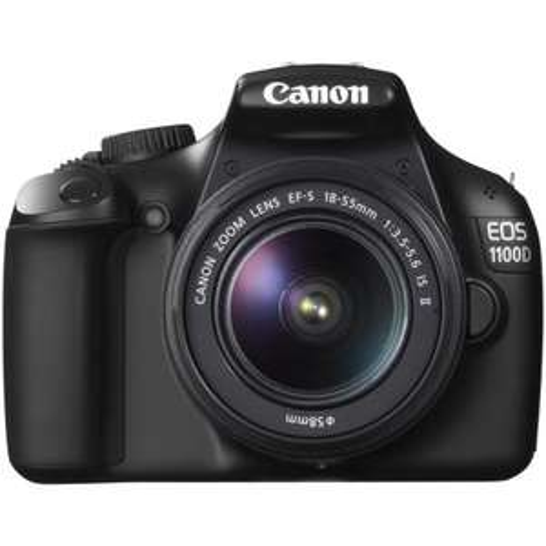 Mediamarkt/Saturn -  CANON EOS 1100D SLR-Digitalkamera inkl. IF II 18-55 Kit für 299€ (Idealo:339€) - Ersparnis:40€