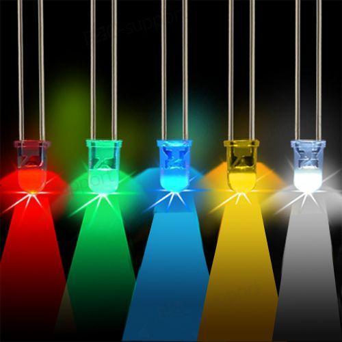 100X LED Lampe Beleuchtung in verschiedenen Farben für 3,59€ inkl. Versand