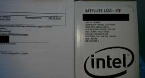 [LOKAL?] MM @ Bayreuth: TOSHIBA L850-1TE 15,6Zoll Core i7-3630QM 4GB Ram 750GB HDD AMD HD7670 W8H schwarz