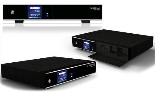 "[Mein Paket] GigaBlue Quad - Twin HD (2 x DVB-S2) Sat-Receiver, 4 Tuner möglich DVB-C /-T, Farb LCD-Display, 2,5"" HDD Einbaubar, Webbrowser, PiP (Bild in Bild), 3xUSB, 2xCI, 1xCA, PVR-Ready, Full-HD"