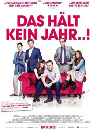 """[Zweite Chance] Mit TV Spielfilm sehr günstig ins Kino zu """"Das hält kein Jahr...!"""" am 15.04.2013 um 20:00 Uhr"""