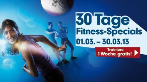 [FitnessFirst] 1 Woche kostenloses Probetraining im März