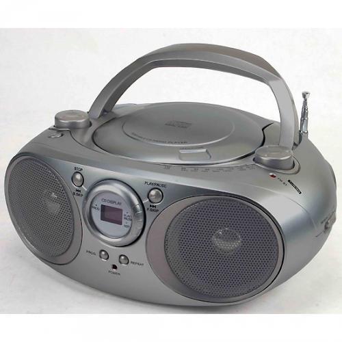 Silvercrest CD-Player mit Radio MD-11 für nur 14,99 EUR + 3,90 EUR Versand