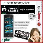 Nokia X6 8GB Handy + My MTV Mobile + 50 Freiminuten + SMS FLAT + Internet FLAT