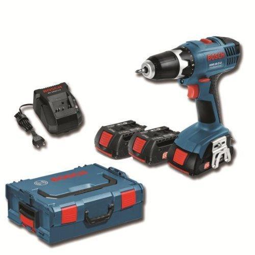 Bosch GSR 18-2-Li Professional inkl. 3 Akkus