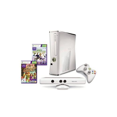 Weiß - Xbox 360 4 GB Kinect + Kinect Sports Bundle (Limitierte Edition) WHD - Wie NEU