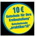 10 € Gutschein bei PRAKTIKER