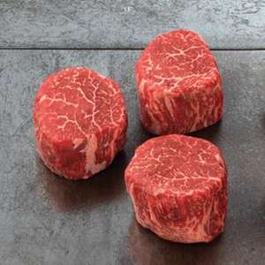 Wagyu (Kobe Style) Filet 63,13€/kg (vergleichspreis182€/kg) Kalbsfilet 20,32€/kg @ Fegro Mannheim