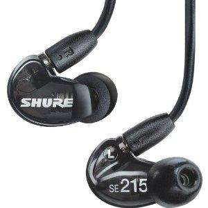 Shure SE-215 K E Black Professional In-Ear Ohrhörer