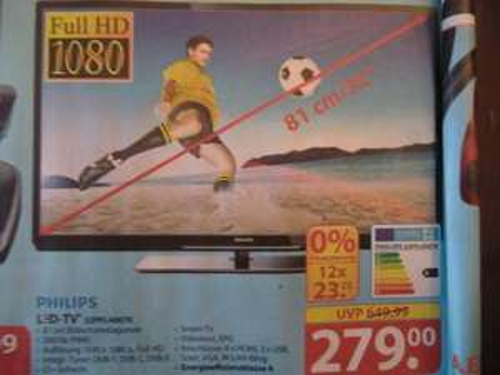 "PHILIPS 32"" (81 cm) LED-TV, Triple-Tuner, USB-Recording, Full HD, CI+ --> OFFLINE Famila Löhne"