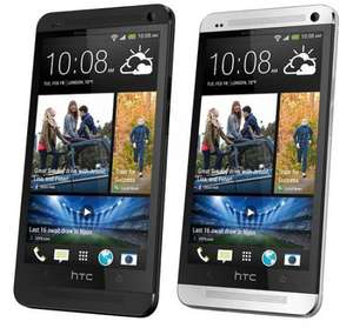 HTC One Glacial Silver/ Stealth Black @getgoods.de