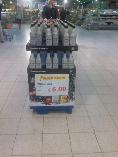 Lokal Globus Ludwigshafen: Jack Daniel's Winter Jack (0,7l) für nur 6,00 Euro