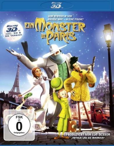 Ein Monster in Paris (2D & 3D Blu-ray) @ amazon.de