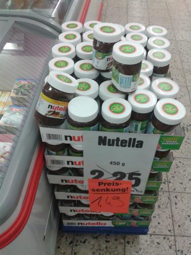 [lokal Braunschweig] Nutella 500g für 1,49€ Netto ohne Hund