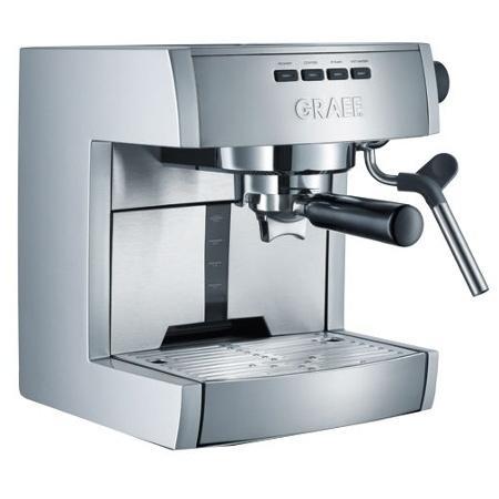 Graef ES 70 Siebträger-Espressomaschine für 217,03 € @Hardwareversand.de