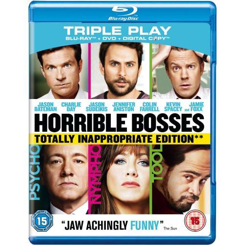 play.com: Kill the Boss/Horrible Boses Triple Play (Blu-ray/DVD/Download) für 5,75€