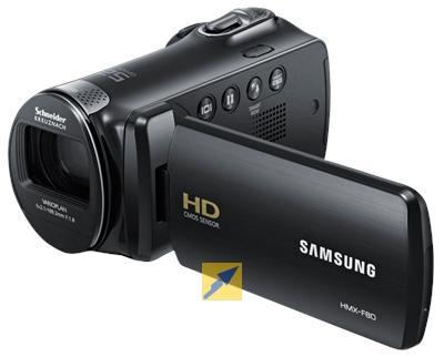 Camcorder Samsung HMX-F80 @technikdirekt