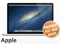"APPLE MacBook Pro Retina 15"" MC976D/A 2,6 GHz für 2.099,- EUR bei Filialabholung"