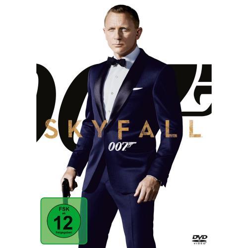 James Bond 007 - Skyfall DVD @ Amazon für 7,- Euro   ( mit Prime für 7,- Euro )