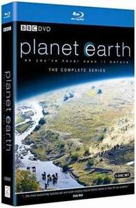 Planet Earth (5 Discs ) mit VSK für 14,38 € @ amazon.uk