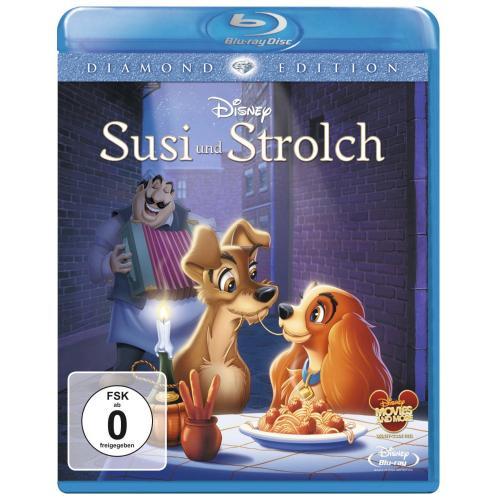 Susi & Strolch DIamond Edition Blu RAy für 10,99 € bei Amazon