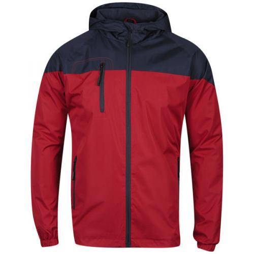 [TheHut] Bravesoul Men's Mini Rip Shoot Jacket - Red