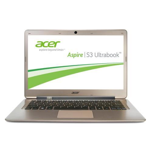 GÜNSTIG - Acer Aspire S3-391-33214G52add 33,8 cm (13,3 Zoll) Ultrabook   [Intel Core i3 3217U, 1,8GHz, 4GB RAM, 500GB HDD, 20GB SSD, Intel HD, Win 8]