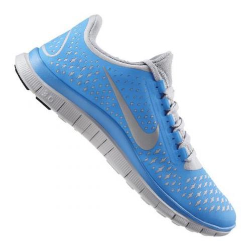 Nike Free 3.0 V4 Running Mens Hellblau Grau @11teamsports.de