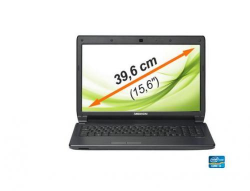 Medion Akoya E 6227, i3 3110M Ivy Bridge CPU;mattes Display; Win 8 über mein Paket.de für 359,95 Euro