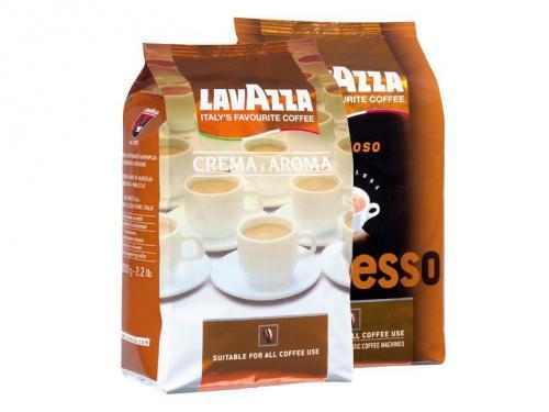 [LIDL Samstag 23.3.] LAVAZZA  Crema e Aroma oder Espresso Cremoso ganze Bohne 1kg