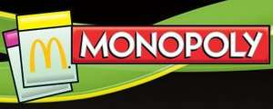 Wieder da: McDonalds Monopoly ab Do, 21.03. (Lovefilm, mydays, PosterXXL, etc.)