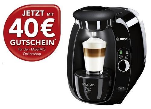 BOSCH TAS2002 Tassimo + 40€ MyTassimo Gutschein für 48,99