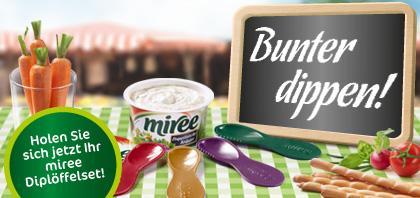 Miree-Diplöffelset gratis für 6 Aktionscodes / Miree bei REWE z.Z. im Angebot für 0,79€