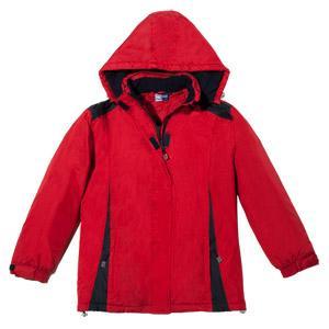 Damen-Funktionsjacke Farbe Rot/Marine, Größe 46 bis 54