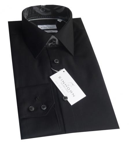 Einhorn Hemd Established Jamie in Schwarz für nur 17,90 EUR inkl. Versand