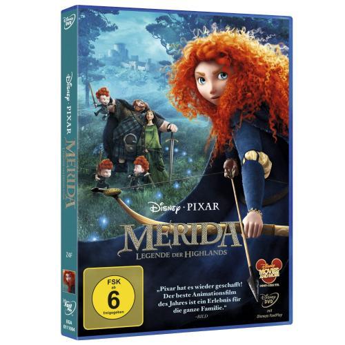 """Disney's """"Merida - Legende der Highlands"""" DVD"""