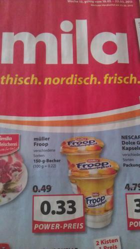 [Lokal Norddeutschland]Müller Froop alle Geschmacksrichtungen @ Famila