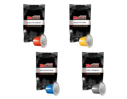Probierset 4 x 10 iT-Espresso Kapseln, geeignet für Nespresso-Kaffeemaschinen, 13,49 vk-frei [10PROZENT]