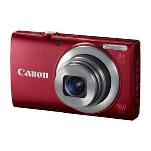 Canon PowerShot A4000 IS (rot) und Canon PowerShot SX150 IS (silber) in Blitzangeboten bei Amazon