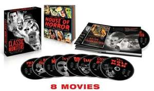 (UK) Universal Classic Monsters: The Essential Collection [8xBlu-ray] für ca. 29.28€ @ Zavvi