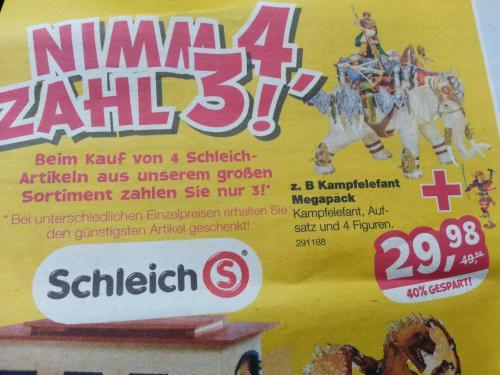 Schleich Kampfelefant Mega-Pack (Toys'R us)