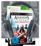 Logitech F540 + Ubisoft Assassin's Creed Brotherhood = 159 EUR