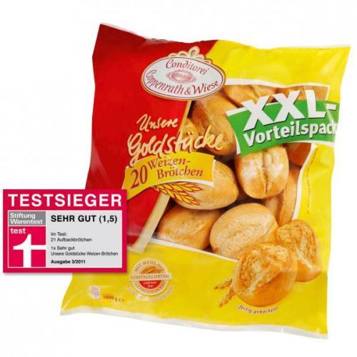 Coppenrath & Wiese Goldstücke XXL Packung (20 Stück) für 1,99€ bei ,-real